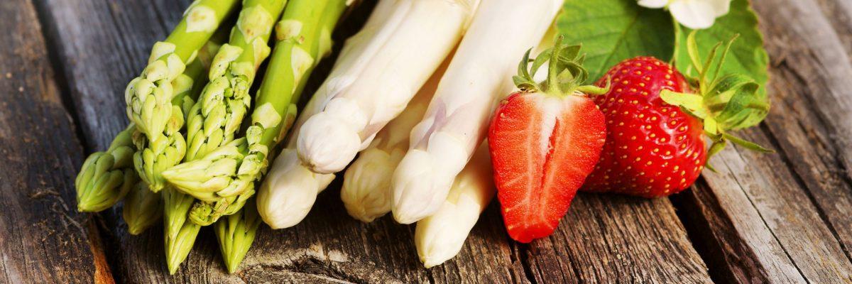 Saisonales Obst und Gemüse als Genussmittel